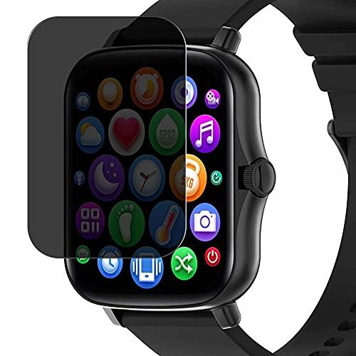 Vaxson TPU Pellicola Privacy, compatibile con Smart Technic Y20 1.69' smart watch smartwatch, Screen Protector Film Filtro Privacy [Non Vetro Temperato Cover Custodia ]