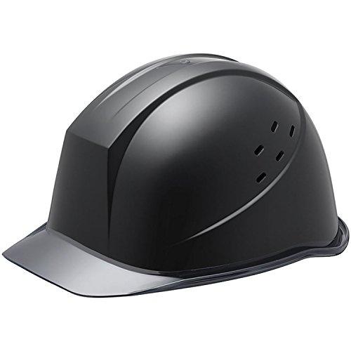 ミドリ安全 ヘルメット クリアバイザー 通気孔付 SC11PCLV RA KPなし ブラック スモーク