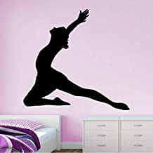 60 X 58 Cm Dance Pose Wall Stickers New Design Vinyl For Girls Rooms Waterproof Art Decals Home Decoration Removable Wallpaper