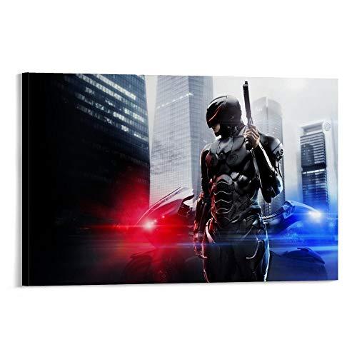 Robocop 2014 Tapete, HD-Poster, dekoratives Gemälde, Leinwand, Wandkunst, Wohnzimmer, Poster, Schlafzimmer, Malerei, 50 x 75 cm