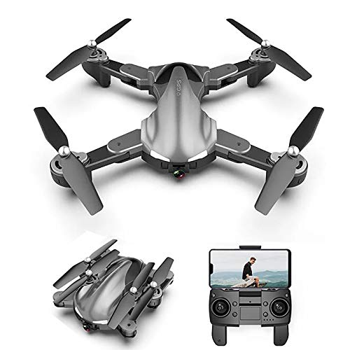 tyuiop WiFi FPV Drone with 4K HD Camera, Wide-Angle Live Video RC Quadcopter with Altitude Hold, Gravity Sensing Manipulation One Key Return Home