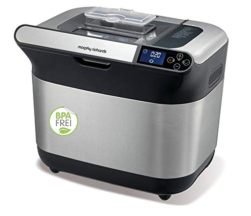 Morphy Richards 502000EE Premium Plus Machine à Pain sans BPA Blanc