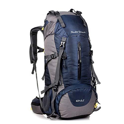 SHADOW DOMAIN Trekkingrucksack mit 40L Wanderrucksack Fassungsvermögen aus strapazierfähigem Nylon. Großer Rucksack, perfekt zum Wandern, Bergsteigen, Reisen und für Sport und Camping