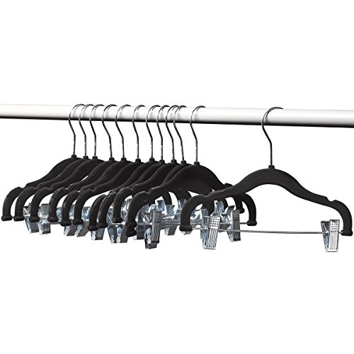 Home-it 12 PACK baby hangers wit...