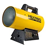 HEXAGO - 40,000 to 60,000 BTU Forced Air Propane Portable Heater