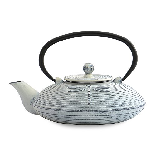 Berghoff 0.80 lt Teekanne, Gusseisen, weiß, 0 cm