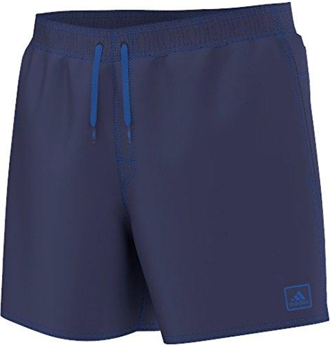 adidas, Pantaloncini da Bagno Uomo Solid, Blu (Midnight Indigo/Blue), L