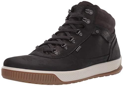 ECCO Herren Byway TRED Hohe Sneaker, Schwarz (Black/Moonless 55869), 45 EU