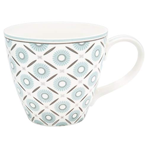 GreenGate - Tasse, Kaffeetasse, Mug - ALVA - Porzellan - weiß - 300 ml