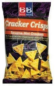Ranking TOP12 Popularity BB Cracker Crisps Sesame Mini Crackers Oz. 10.6 No Cholesterol