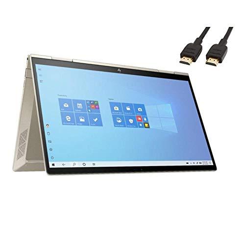 HP Envy x360 2-in-1 2020 13.3' FHD Touchscreen Laptop Computer, 4 Core Intel Core i7-1165G7 2.8GHz, Intel Evo Platform, 8GB RAM, 512GB SSD, Backlit Keyboard,No DVD, Webcam,Wi-Fi,HDMI,Win 10,TMLTT Kit