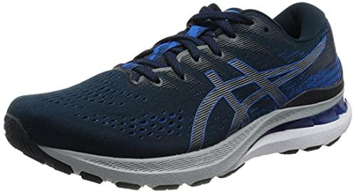ASICS Men's Gel-Kayano 28 Running Shoe, FRENCH BLUE/ELECTRIC BLUE, 10UK