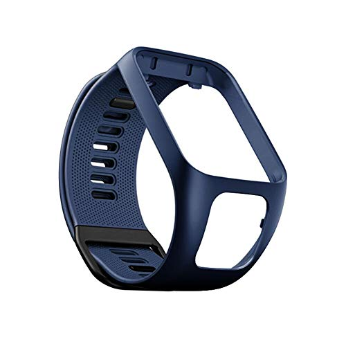 Reloj deportivo Correa de pulsera de repuesto de silicona Reloj deportivo Pulsera de reloj Correas de reloj de reemplazo de silicona Correas Pulsera deportiva para TomTom Runner 2/3 Spark Spark 3