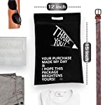LOVEETA Poly Mailers Shipping Envelopes Bags – Cute Thank You Poly Mailer with Handle Self Adhesive Packaging Bags 12×15…