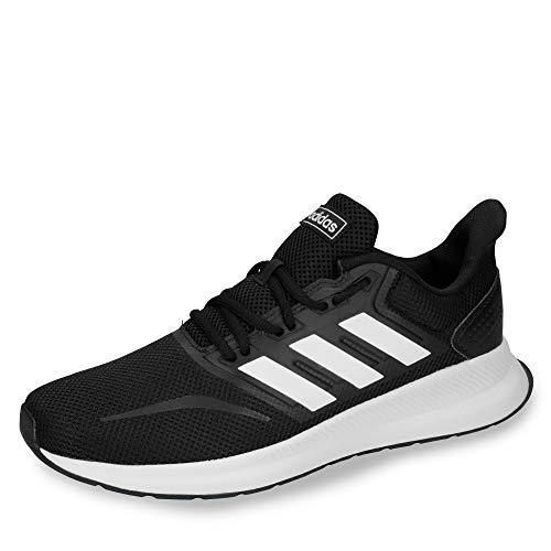 Adidas Falcon, Zapatillas de Trail Running Hombre, Negro/Blanco (Core Black/Cloud White F36199), 43 1/3 EU