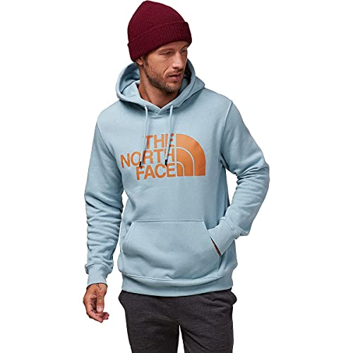 The North Face Men's Half Dome Pullover Hoodie - Hoodies for Men, Tourmaline Blue, M