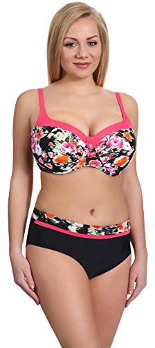 Merry Style Damen Bikini Set P190-57MIA (Muster-4, Cup 75 H/Unterteil 38)