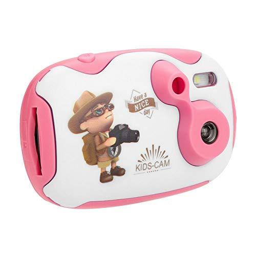 Elerose kindercamera aantrekkelijke cartoon anti-drop digitale videocamera cadeau voor jongens en meisjes