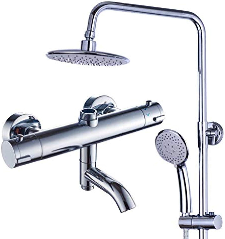 Dusch-Set-Verstellbare Slide Bar-Duschsysteme mit Regendusche und Handheld-Wand montiert-Halter für Luxus-Badezimmer-Dusche-Set