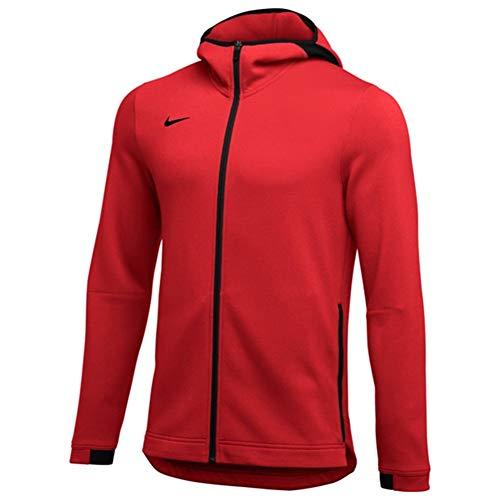 Nike Mens Full-Zip Basketball Hoodie Dri-FIT Showtime 930561-657 Size XL