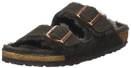 Birkenstock Arizona, Sandale für Damen, offener Zehenbereich, - braun - Größe: 42 EU