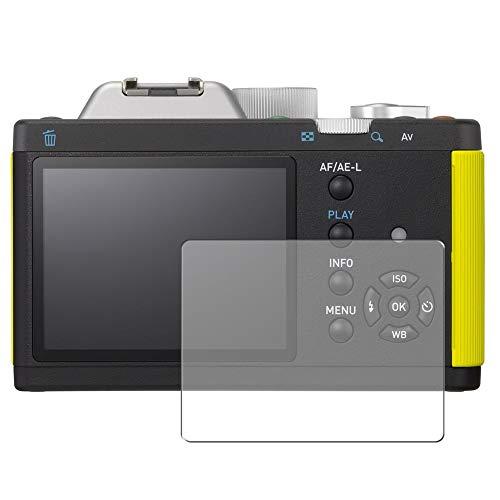 Vaxson 3 Stück Schutzfolie, kompatibel mit RICOH PENTAX digital camera K-01, Displayschutzfolie TPU Folie [nicht Panzerglas]