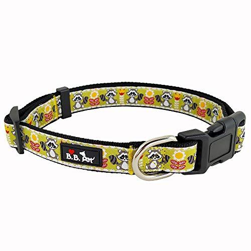 Bestbuddy BBP036 Hundehalsband, modisches Design, Cartoon-Design, strapazierfähiges Nylonband, modisch, bequem, verstellbar, mit Schnalle, 15