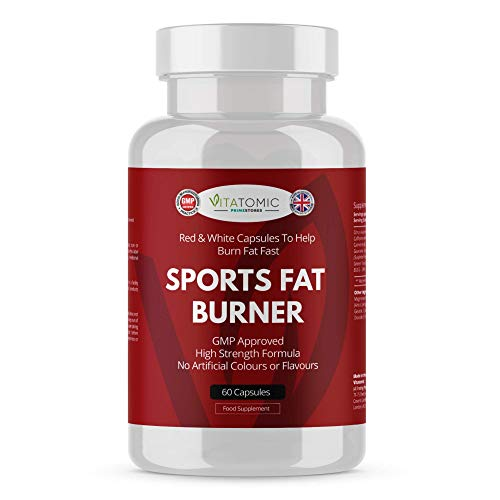Fat Burner Weight Loss Keto Tablets - 60 Capsules Red White - High Strength Halal Product Fast Diet Slimming Burner Pills Supplement by Primestores