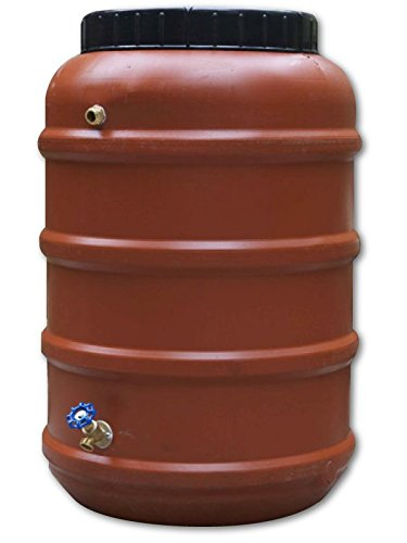 Rain Barrel, DIY Kit, Used Food Grade Barrel, Upcycled, 58 Gallon Size