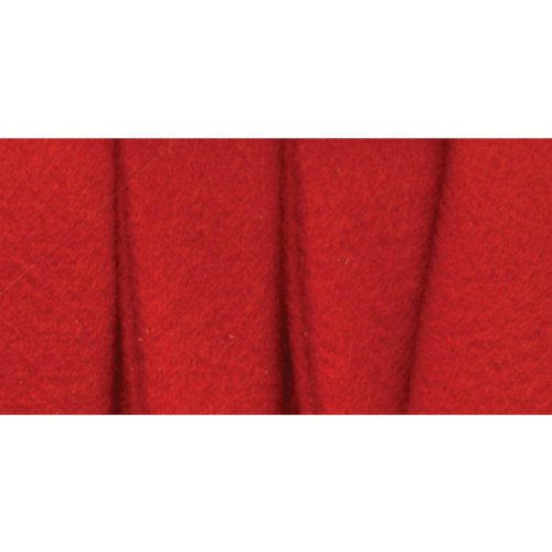 Extra Wide Fleece Binding 1/2 Inch 3 Yds Red