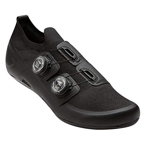PEARL IZUMI PRO Road v5 Cycling Shoe, Black/Black, 43