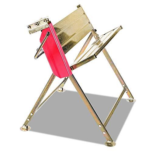 Hengda Sägebock ohne Kettensägehalterung zusammenklappbar 150kg Belastbarkeit für Brennholz für Kettensägen mit Halterung