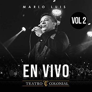 En Vivo en Teatro Colonial, Vol. 2