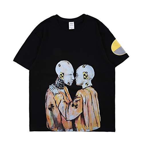 Aasp Rocky T-Shirt Rundhals Kurzarm Tee Shirt Hip-Hop Rapper Streetwear