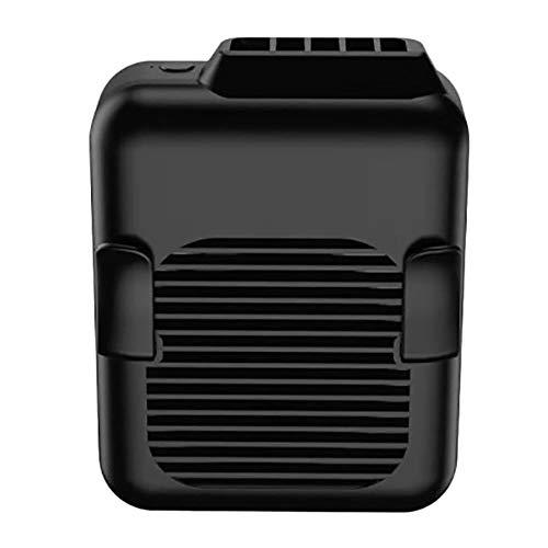 LKJHG - Ventilador para colgar en la cintura con carga USB, portátil para colgar