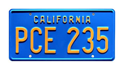 Axige888 Stranger Things | PCE 235 | Metal Stamped License Plate