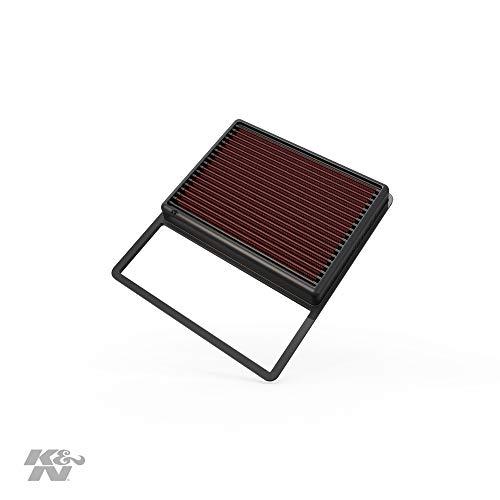 K&N 33-5001 Waschbarer und wiederverwendbarer KFZ Tauschluftfilter
