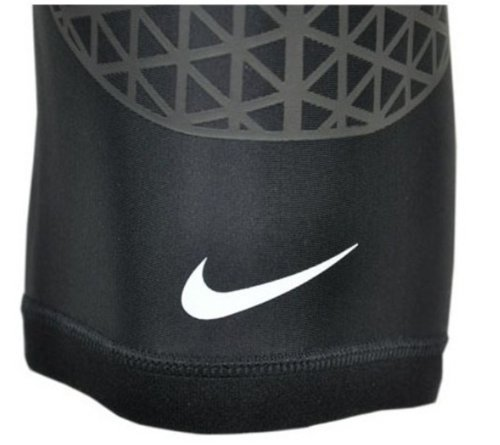Nike Pro Combat Hyperstrong Knee Sleeve (Large, Black)