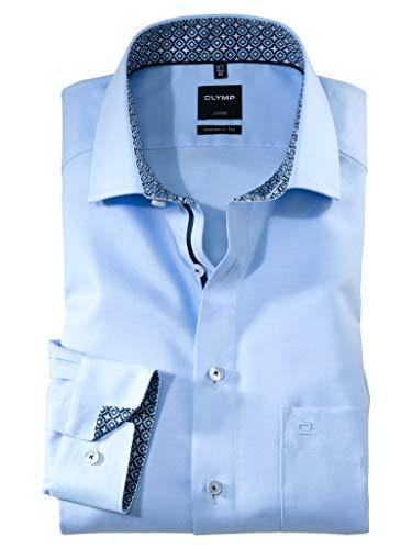 OLYMP Herren Hemd Modern Fit Langarm blau (51) 42