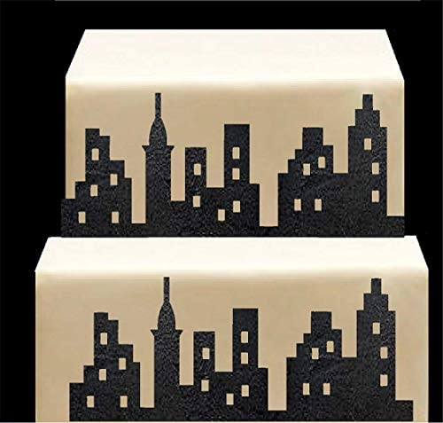 CakeSupplyShop Scenic Theme Stick On Lay On Cake Border Decoration Toppers Super Hero Lighted product image