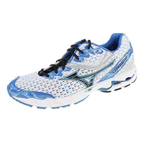 Mizuno Damenschuhe Laufschuhe Wave Precision 11 Weiß Blau 8kn01523 (42.5 EU)