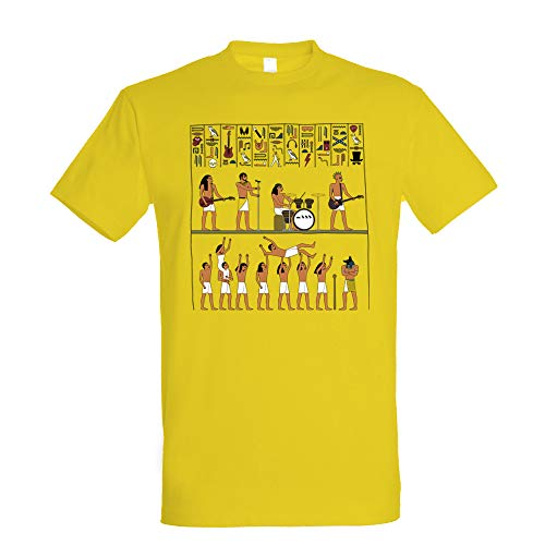 Camiseta Ancient Rock - Música - Egipto - 100% Algodón - Serigrafía