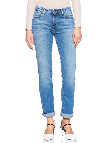 Wrangler Straight Jeans, Blu (Best Blue 94O), 29W / 32L Donna