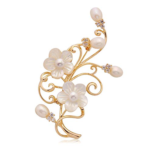 KXBY broche accessoires voor broches bloem kunstbloem grote broche mantel dames pullover ketting pullover pin