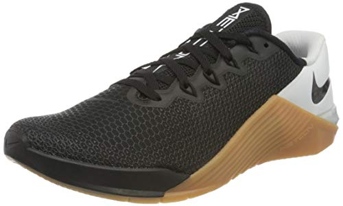 Nike Metcon 5 Men's Training Shoe Black/Black-White-Gum MED Brown Size 11