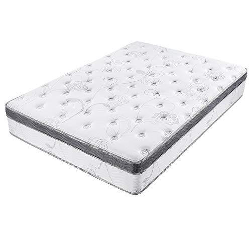 Olee Sleep 13 inch Galaxy Hybrid Gel Infused Memory Foam and Pocket Spring Mattress (King)