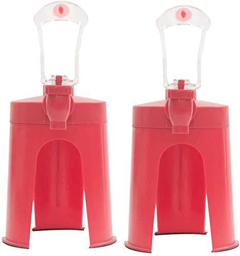 JCSNSKY 2 Piezas Extraño Creativo Presión Manual Máquina De Bebidas Carbonatadas Dispensador De Agua Potable Barra De Fiesta Utensilios De Cocina Máquinas De Bebidas