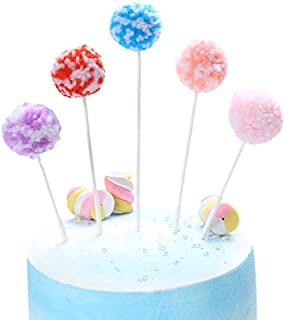 New Cake Topper Cute Cloud Birthday Cupcake Topper for Wedding Kids Girls Birthday Party Cake Decorations zhengpingpai (Co...