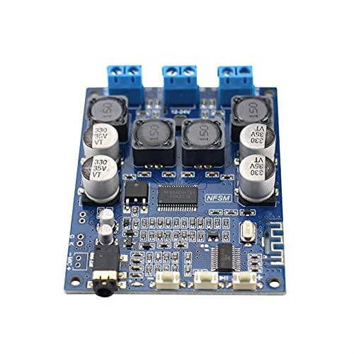 Wnuanjun 1 STÜCK TPA3118 Bluetooth-Verstärker Audio-Board 30W * 2 Dual-Kanal mit AUX Bluetooth 5.0-Anruf