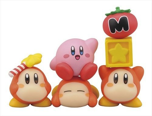 Ensky ????? Kirby's Dream Land 2 Nosechara NOS-57 Stapelspiel Figuren-Set: 6 Figuren